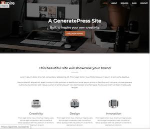 Página web de empresa